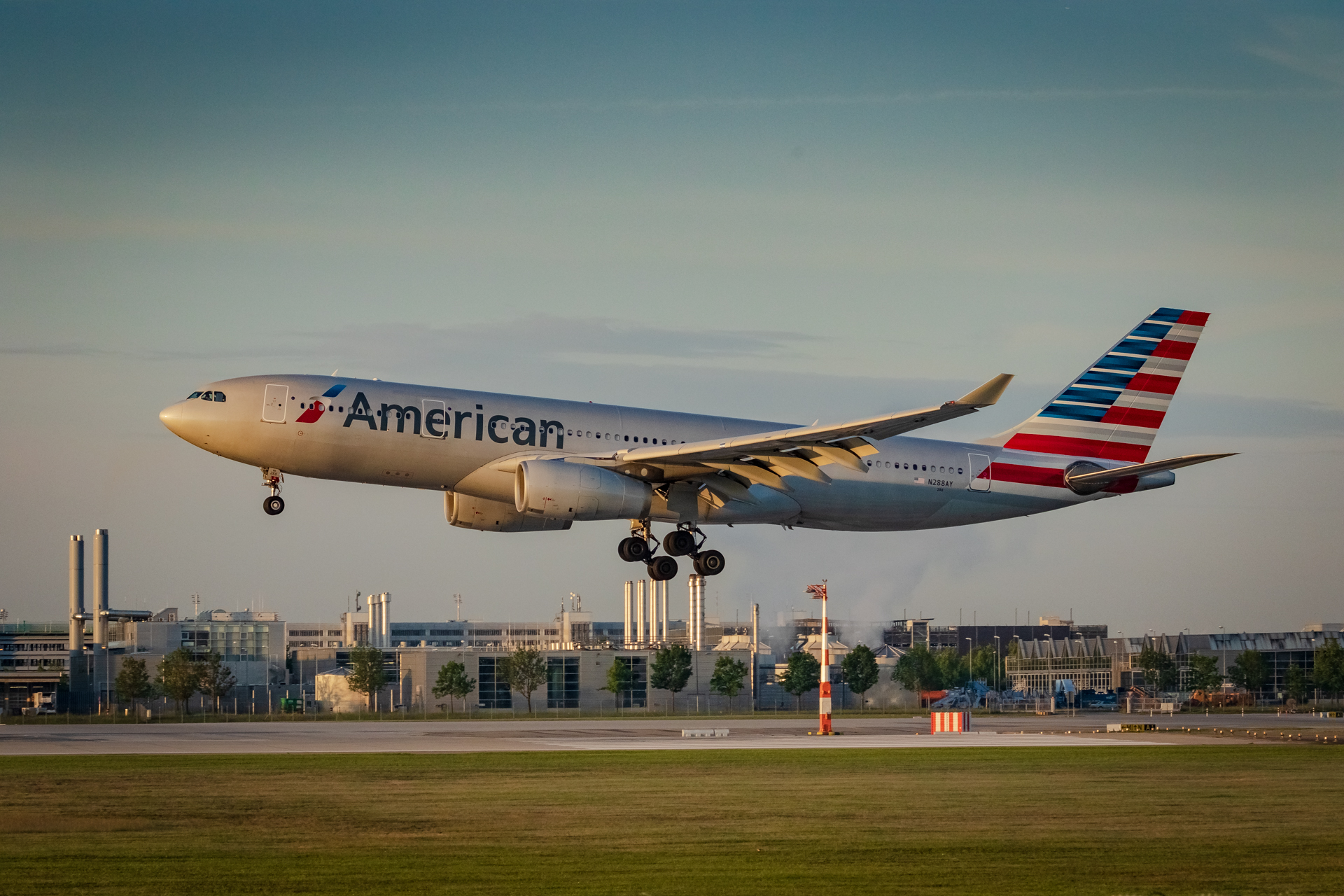 Airbus A330-200 der American Airlines. Foto: thekk.xyz