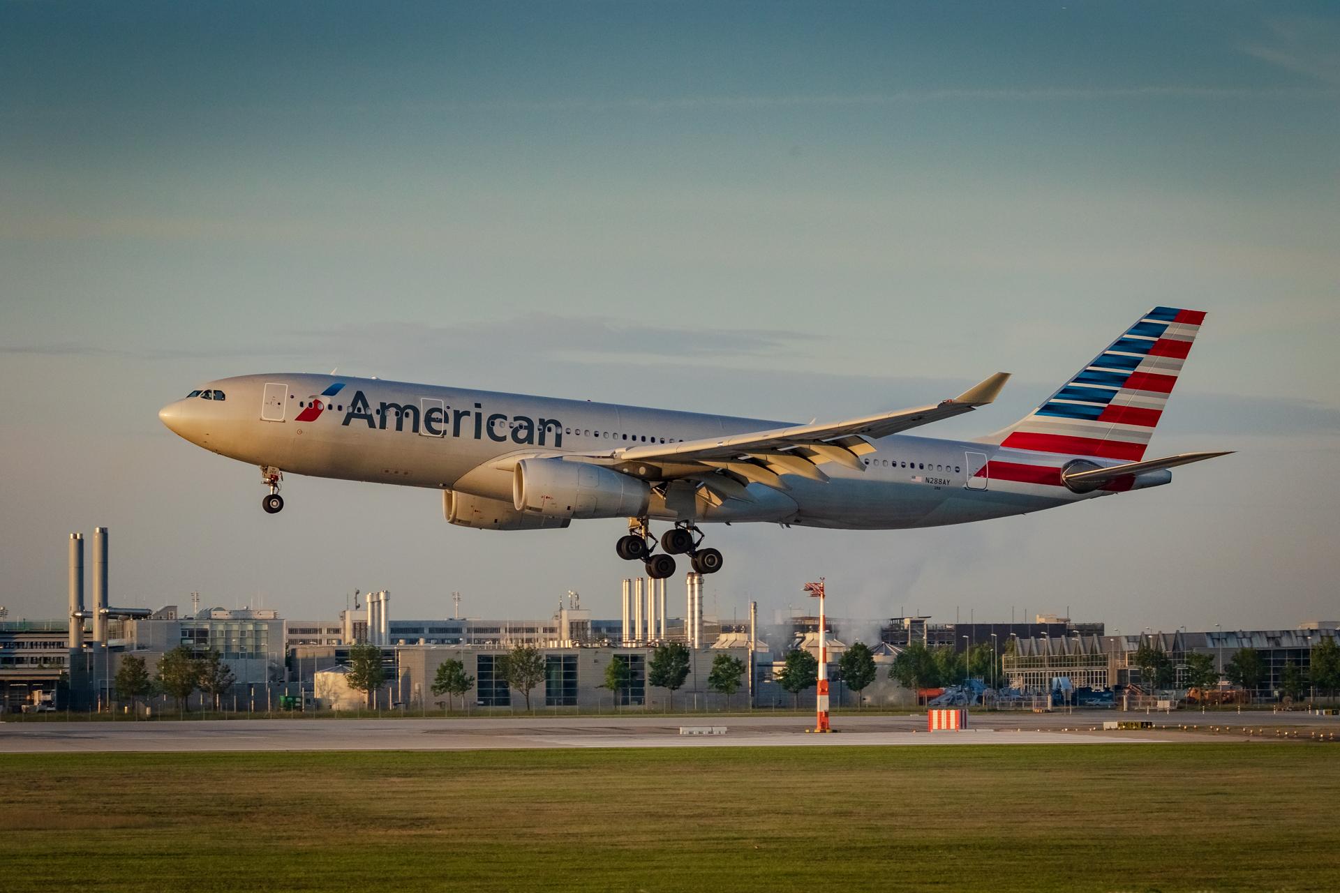 Airbus A330-200 der American Airlines. Foto: thekk.xyz